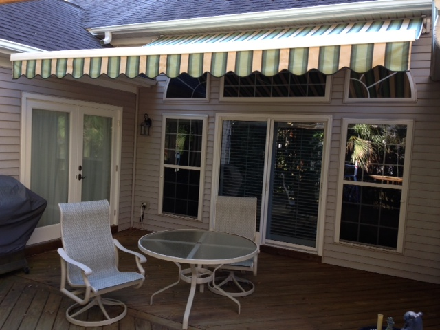 Canvas Retractable Solair Awning