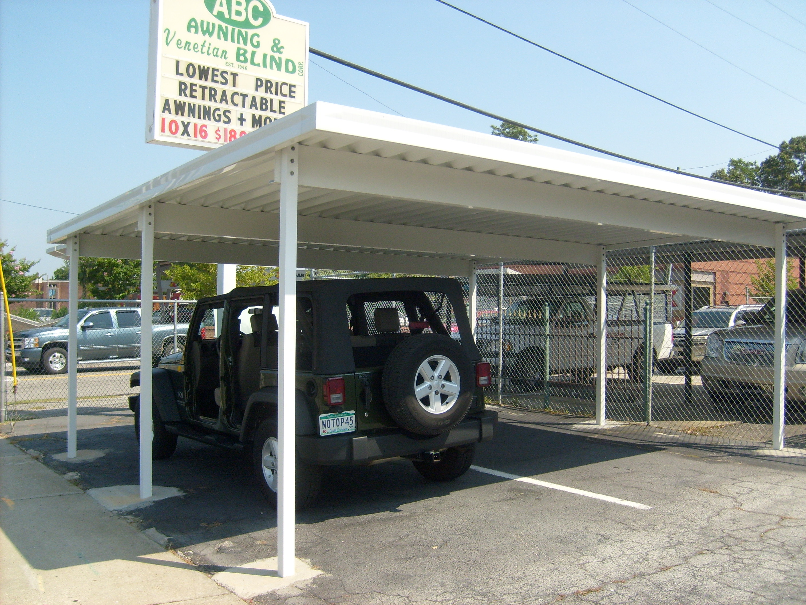 Carports And Patio Covers Awning Amp Venetian Blind Corp